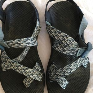Ladies chevron patterned Chaco sandals